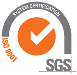 ISO 9001 system certification.